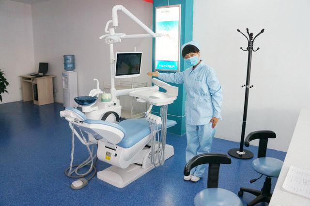 高雅洁净的治疗室