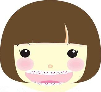 幼儿牙齿卡通图片